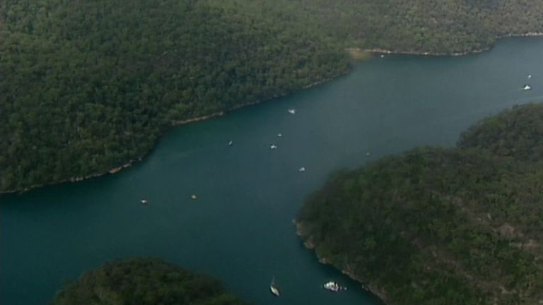 Seaplane crashed in Australia