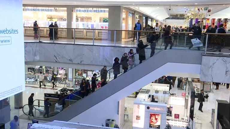 Brent Cross shopping centre December 2017