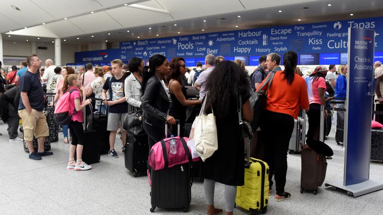 Tens of thousands of BA passengers were affected after an IT failure in May