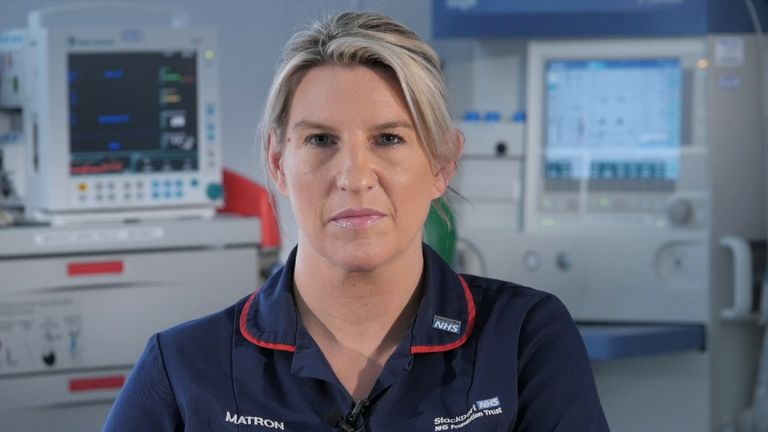 A&E nurse Charlotte Brownhill, who treated victims of the Manchester Arena bombing