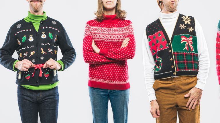 Christmas jumpers have become so cheap people buy new ones every year