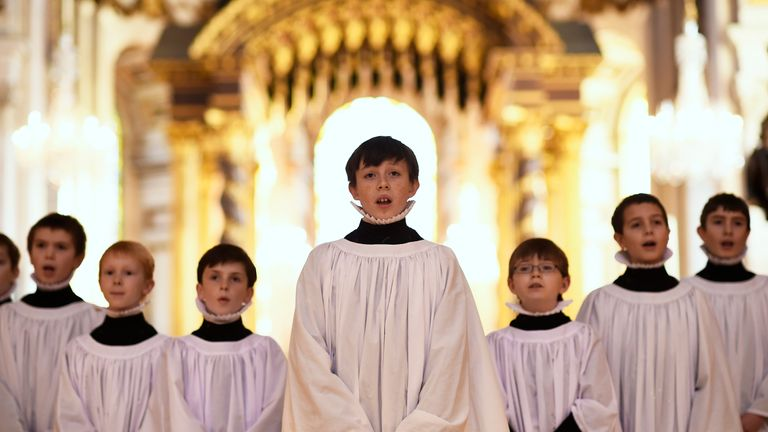 Most young people do not attend church on Christmas Day, Sky News found