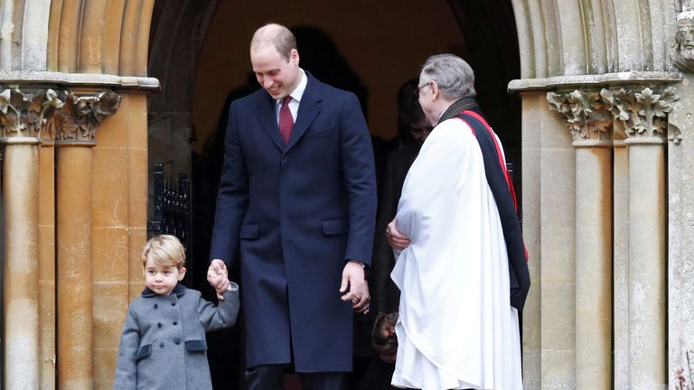 The Royal Family attend church every Christmas