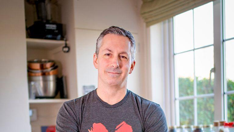 Derek Sarno, former senior global chef at Whole Foods Market- new director of Tesco plant based innovation -  kate@veganuary.com