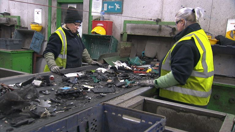 UK reports says global electronic waste mountain has grown by 8% in the past two years. Woods VT