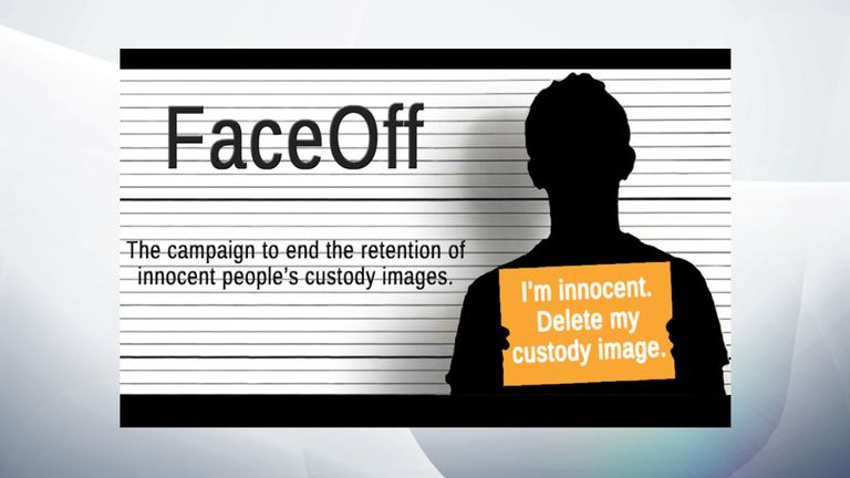 FaceOff is a campaign to remove innocent people's custody images