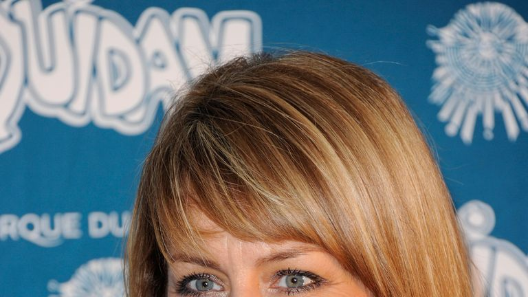 Fay Ripley was among those affected by air delays