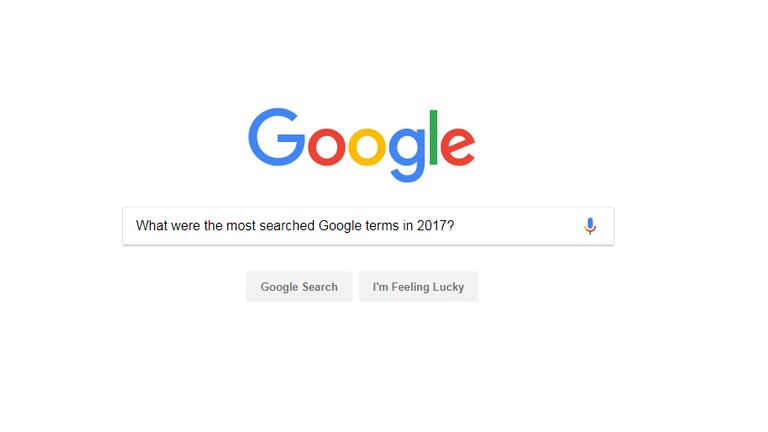 Google's trends for 2017 have been released