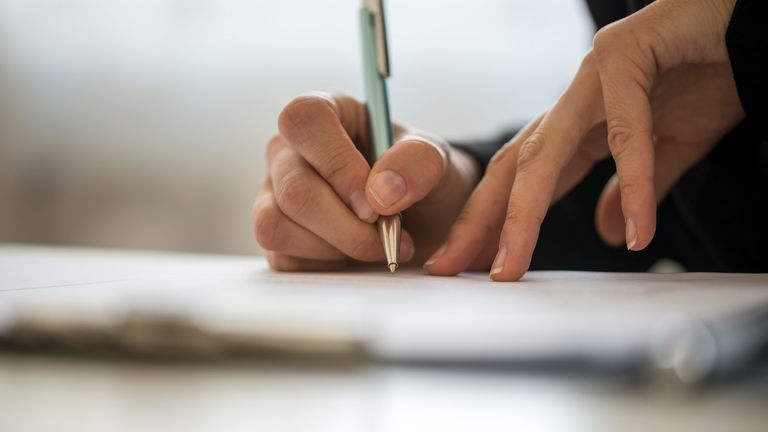 New technology can detect benefit fraud by identifying similar styles of handwriting