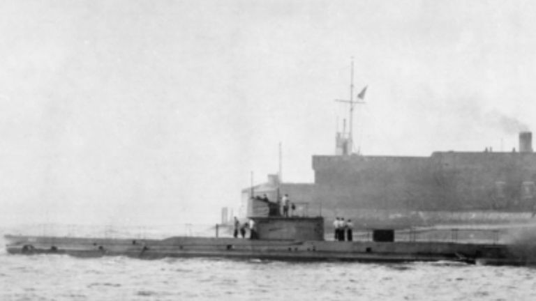 HMAS AE1 was the first Allied submarine loss of WWI. Pic: Australian War Memorial