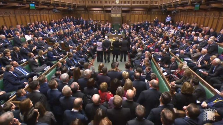 MPs voted to support a Tory rebel amendment to the EU (Withdrawal) Bill