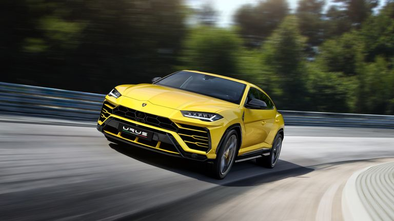 Lamborghini unveils \u0027super SUV\u0027 , yours for £165,000