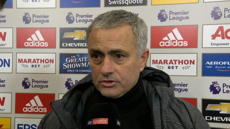 Jose Mourinho bemoaning his luck after the manchester derby