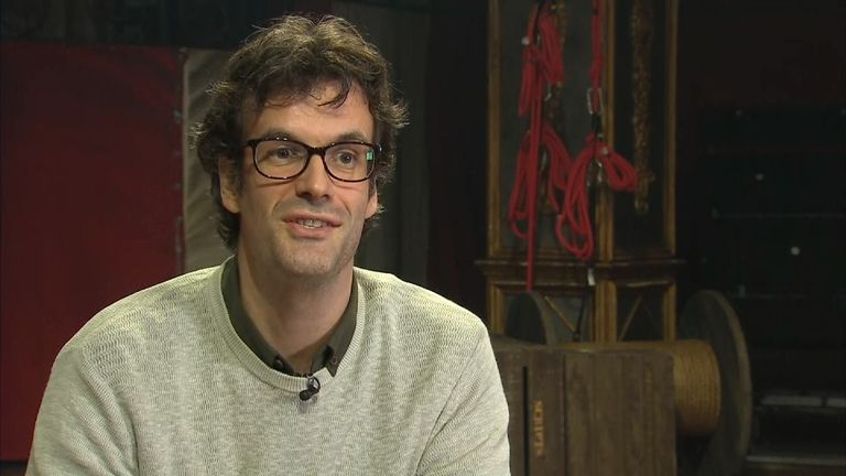 Marcus Brigstocke is playing PT Barnum in a London musical