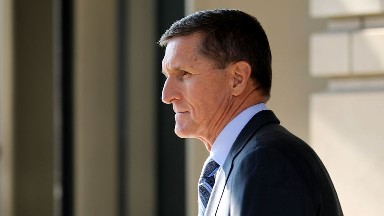 Mr Flynn has agreed to cooperate with the investigation as part of a plea agreement