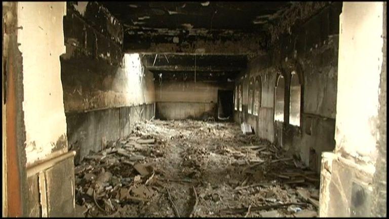 Islamic State jihadists burned and looted many churches around Mosul.