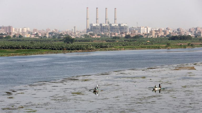 The Nile basin covers 11 countres