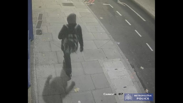 The Metropolitan Police have released CCTV images of a suspect wanted in connection with the murders of Noel and Marie Brown in Deptford.