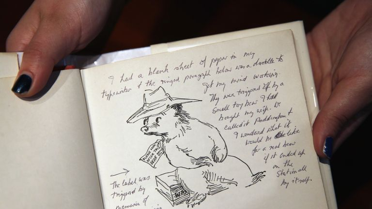 Paddington first came to life in books illustrated by Peggy Fortnum