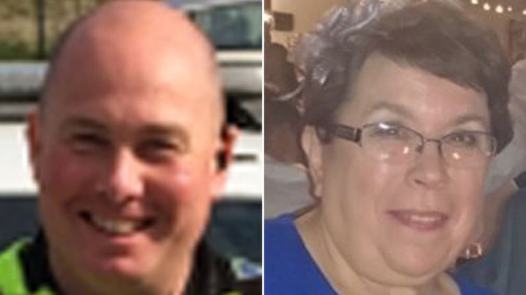 PC Dave Fields and Lorraine Stephenson died in the crash