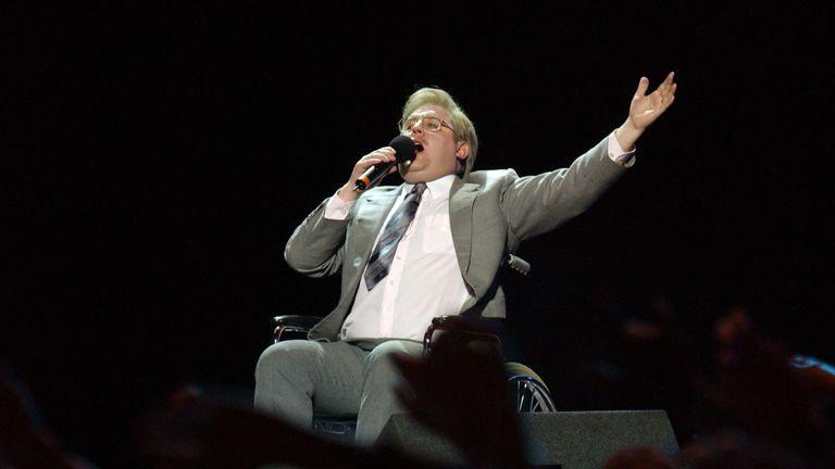 Peter Kay in 2005