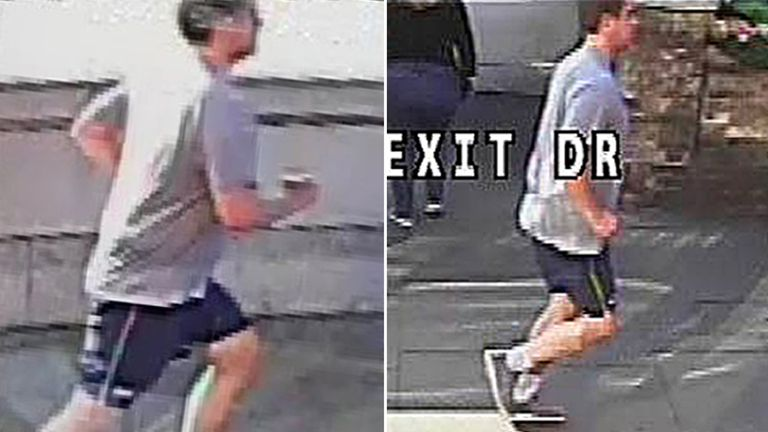 The Metropolitan Police issued this picture of a jogger they wish to interview