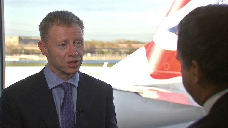 Robert Sinclair, chief executive of London City Airport