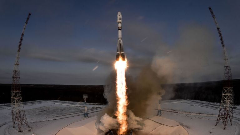 The rocket launched from Vostochny, not Baikonur