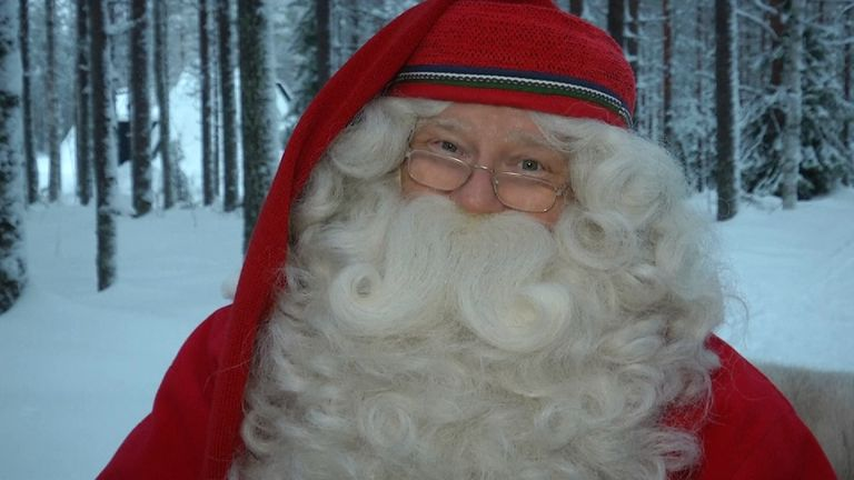 Santa Claus has issued his own annual message to everyone who made a Christmas wish