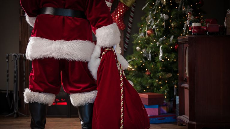 St Nicholas is said to have inspired the figure of Father Christmas