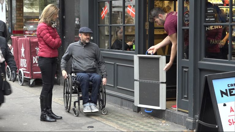Will Pike has highlighted the access problems disabled people face.