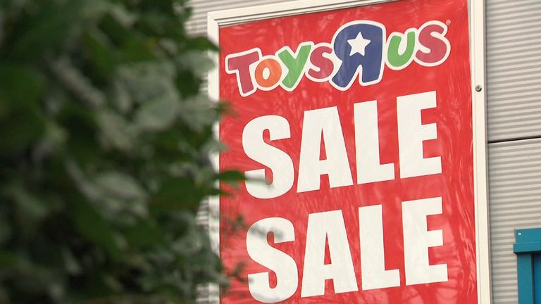 Toys R Us owes money to suppliers and landlords