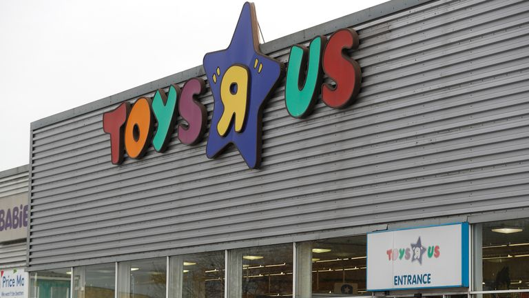 Toys R Us has 106 UK stores and employs 3,200 people in the country