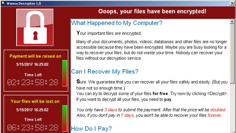 North Korea has been widely blamed for the WannaCry ransomware attack
