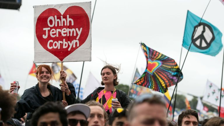 Jeremy Corbyn saw a surge in support from millennials at the General Election