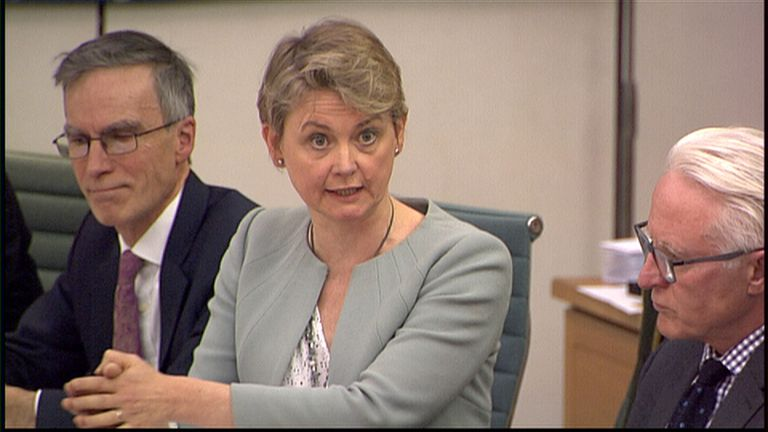 Labour MP Yvette Cooper