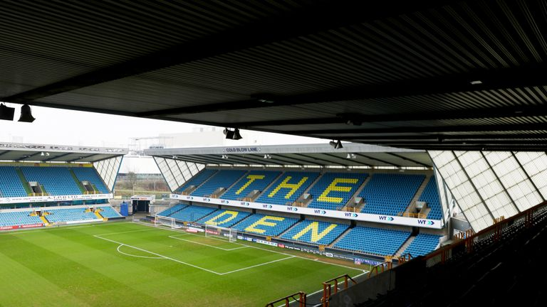 LONDON, ENGLAND - FEBRUARY 18: General view inside the stadium prior to The Emirates FA Cup Fifth Round match between Millwall and Leicester City at The De