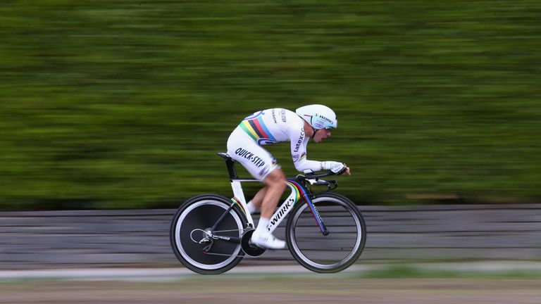 Tony Martin of Germany has updated his comments made about Britain's Chris Froome