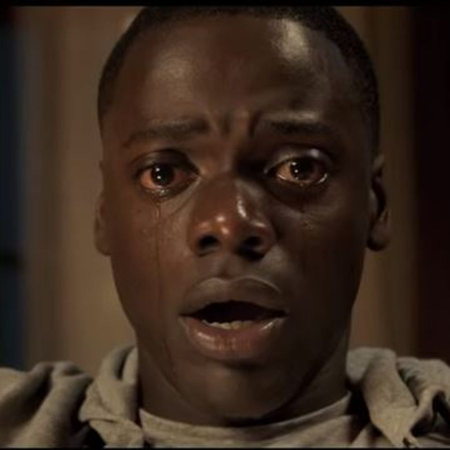 An image from the trailer of Get Out