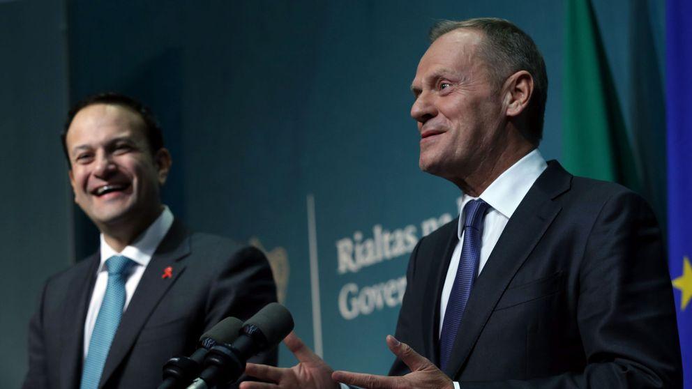 Taoiseach Leo Varadkar and President of the European Council, Donald Tusk