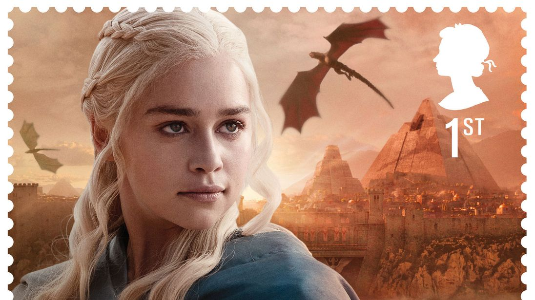 British Royal Mail Releases Postage Stamps With 'Game of Thrones' Characters