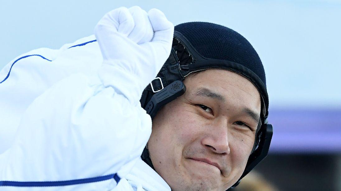 Japanese astronaut Norishige Kanai