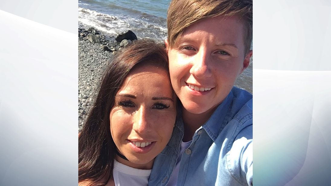 Laura Williams said Cassie Hayes, right, was 'selfless and strong'