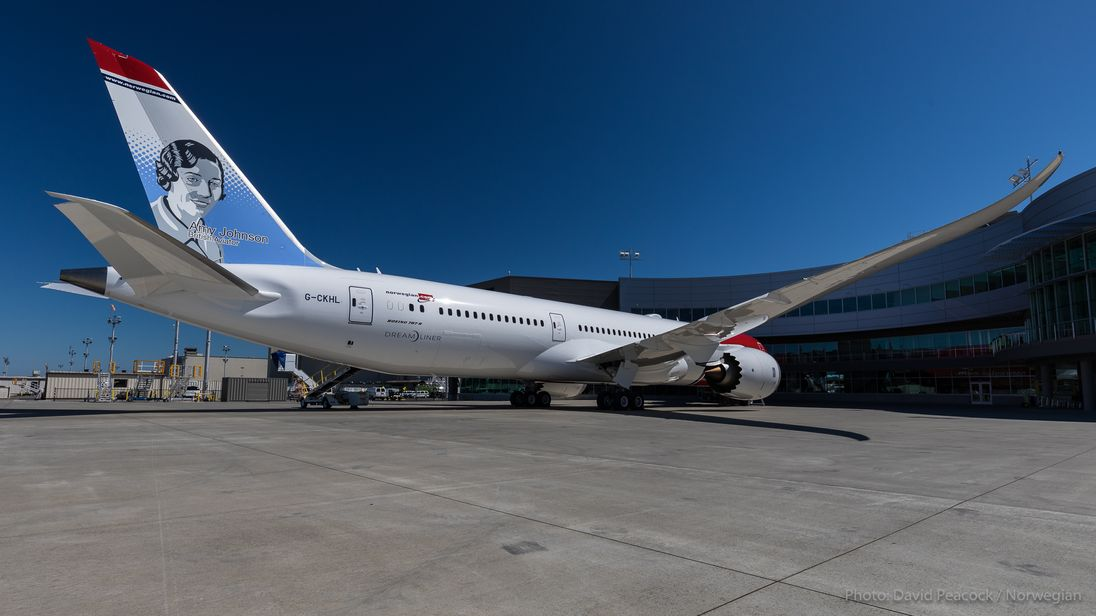 Norwegian set a new transatlantic flight record
