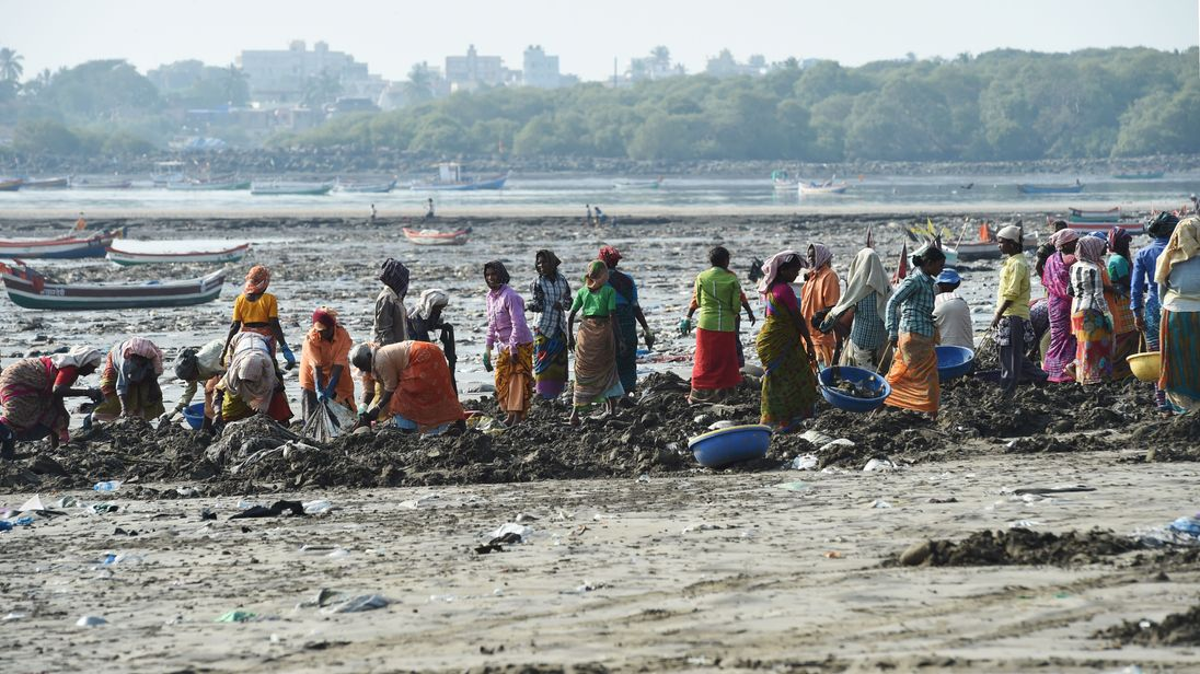 Mumbai beach 3