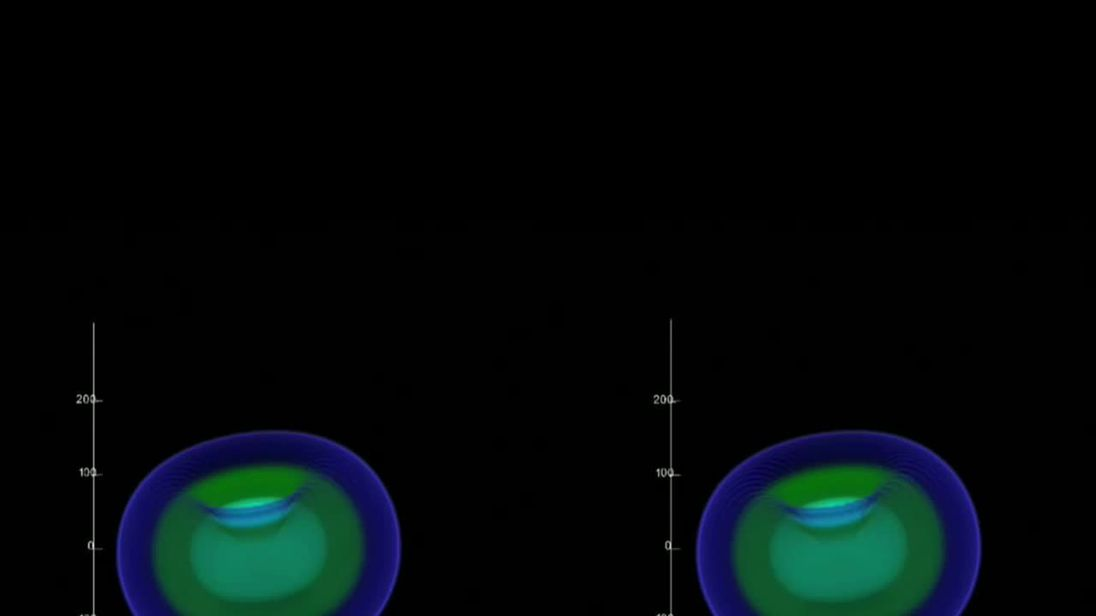 Video        Black hole 'relativistic jets&#x27 seen wobbling