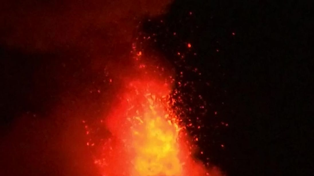 Mayon Volcano spews more lava, ash