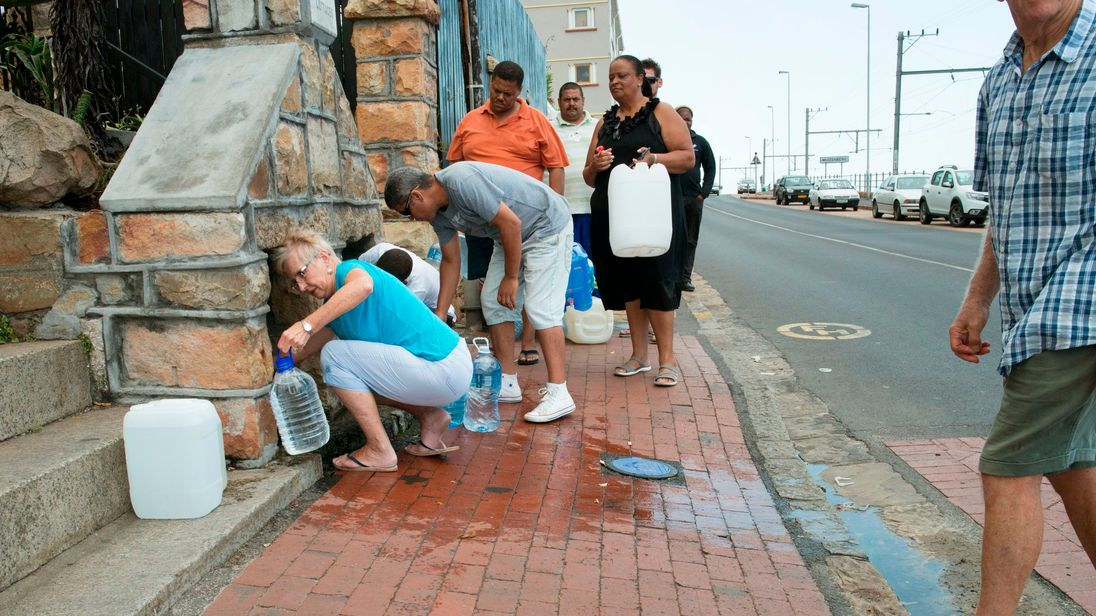 DA leader Maimane to announce plan for Cape Town water crisis