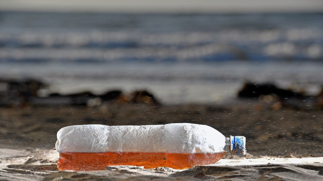 Surfers Against Sewage are campaigning to reduce plastic waste on our beaches