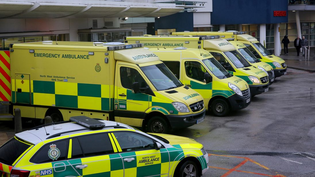 NHS crisis: January was the second-worst month for A&E
